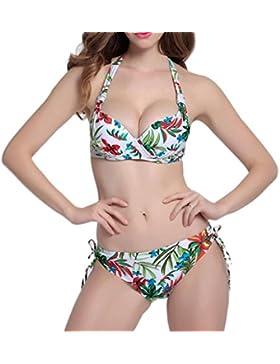 Costume da bagno delle signore Costume da bagno Swimsuit di spaccatura del bikini di spaccatura dello Swimsuit...