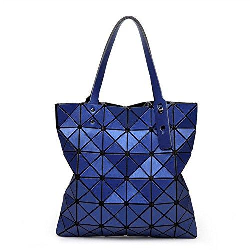 Mefly Die neue Falttasche Lingge Bangalor Fashion Handtasche Navy Blue