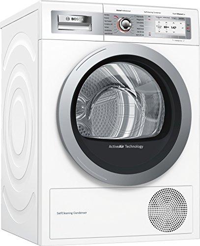 Bosch WTY887W6 sèche-linge Autonome Charge avant Blanc 9 kg A+++ - Sèche-linge (Autonome, Charge avant, Condensation, Blanc, Rotatif, Tactil, Droite)