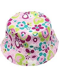 Fletion Motivo floreale Cappello da pescatore baby Cappello da sole per  bambini Ragazzi neonati Cappello di pescatore… 4ec98fe4679f
