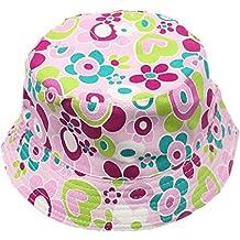 Fletion Motivo floreale Cappello da pescatore baby Cappello da sole per  bambini Ragazzi neonati Cappello di b66e1392e85a