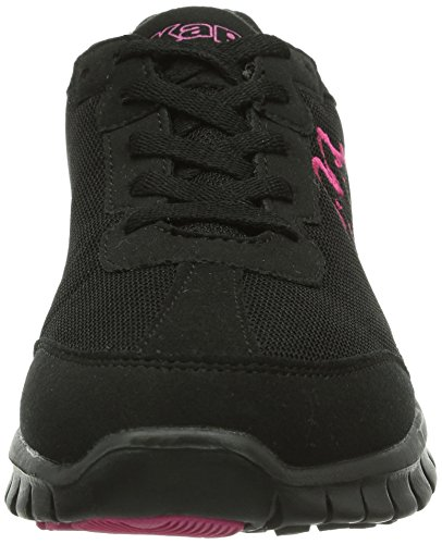 Kappa  SYLVESTER II Footwear unisex, Mesh/Synthetic, Peu mixte adulte Schwarz