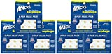 MACK'S Pillow Soft Moldable Silicone Putty Earplugs Six Pair Value Pack x6 Packs