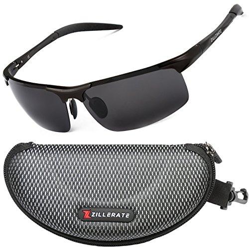 c3fb20a3fec0 ZILLERATE Mens Womens Fashion Sunglasses - Polarised Lenses