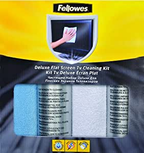 Fellowes deluxe flat screen tv cleaning kit How to clean flat screen tv home remedies