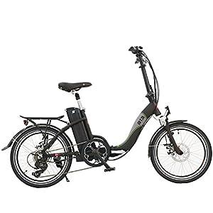 AsVIVA E-Bike B13 schwarz 20 Zoll Pedelec Klapprad Elektrofahrrad 36 V Samsung Akku