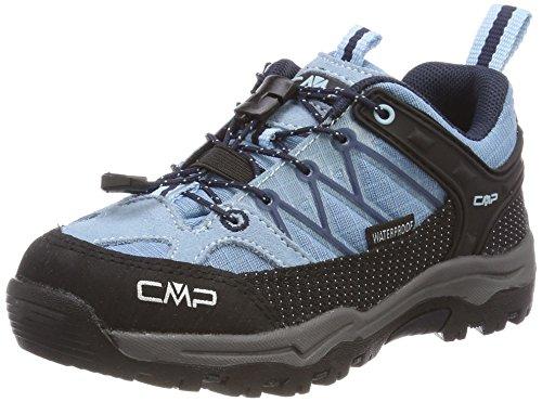 CMP Unisex-Kinder Rigel Trekking-& Wanderhalbschuhe, Türkis (Glass-B.Blue), 36 EU