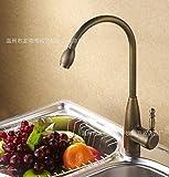 Tougmoo fabbrica diretta rame antico rubinetti, rubinetti, rubinetto di acqua calda e fredda 8035a