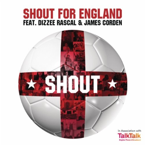 Dizzee Rascal and James Corden - Shout for England