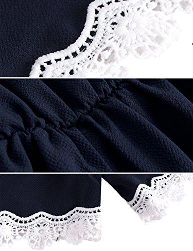 Modetrend Jumpsuit Femmes 2017 été Combishort de Plage Sexy Sans Bretelles Combinaison Rompers Bleu