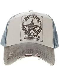 HuntGold Vintage Étoile Cow-boy Casquette de Baseball Snapback Chapeau de Plein Air