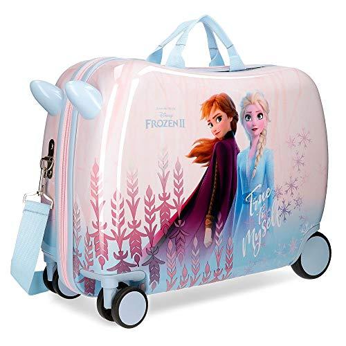 Valigia per bambini 2 ruote multidirezionali Frozen True to Myself