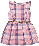 ESPRIT KIDS Mädchen Kleid RL3019303, Weiß (White 010), 128 (Herstellergröße: 128/134)