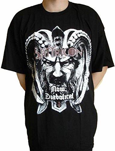 Maglietta Satyricon-Ora diabolica Black XL