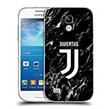 Head Case Designs Ufficiale Juventus Football Club Nero 2017/18 Marmoreo Cover Morbida In Gel Per Samsung Galaxy S4 mini I9190