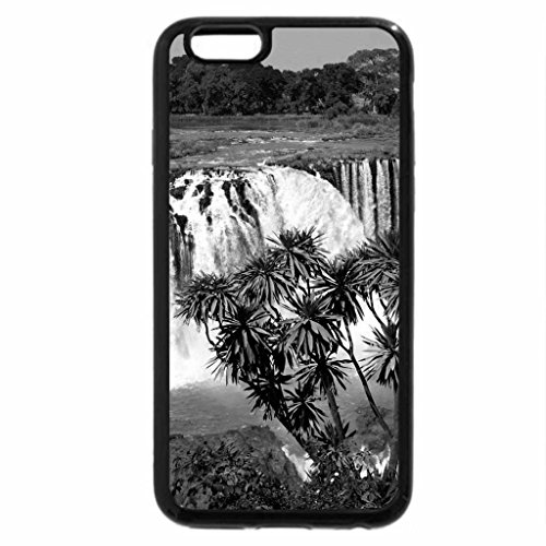 iPhone 6S Plus Case, iPhone 6 Plus Case (Black & White) - abay