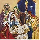 20Servilletas Navidad Nacimiento Jesús Belén Sagrada Noche 33x 33cm