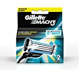 Gillette Mach 3 Manual Shaving Razor Blades - 2s Pack (Cartridge)