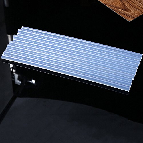MMLC 5 Stück Transparent Klebesticks Ultra Heißklebestifte 11 x 270 mm Or 11 x 200 mm Or 7 mm x 200 mm (7 mm x 200 mm)