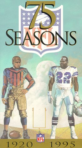 Preisvergleich Produktbild 75 Seasons-Story of the NFL [VHS]