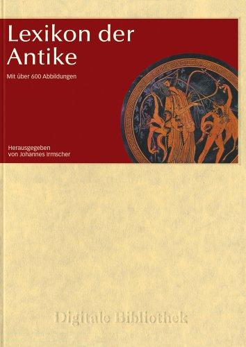Digitale Bibliothek 18: Lexikon der Antike