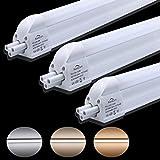 2er Auralum® T5 G5 90CM LED Röhre Leuchtstoffröhre 12W Neutralweiß 4000-4500K