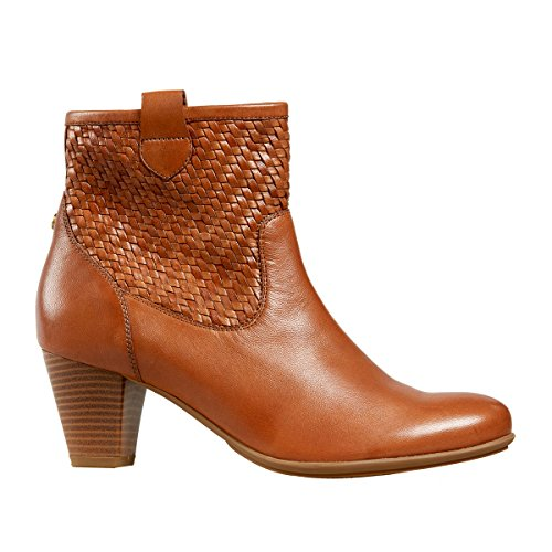 Van Dal Shoes Womens Danville Short Boots in Tan