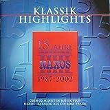 15 Jahre NAXOS 1987-2002 (Limitierte Jubiläumsausgabe)