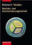 Elektronik: Tabellen Betriebs- und Automatisierungstechnik