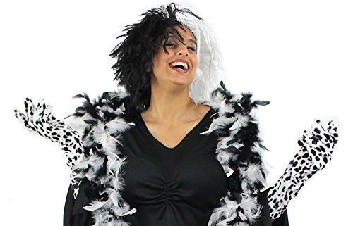 ILOVEFANCYDRESS Evil Dog Lady Cruella Set