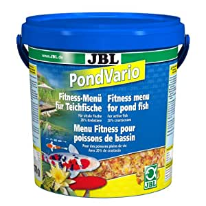 Jbl pond vario fish food 1370g pet supplies for Amazon fish ponds