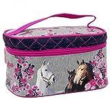 I Love Horses Pferde Kinder Beauty Bag Kosmetikkoffer Kulturtasche Kosmetiktasche
