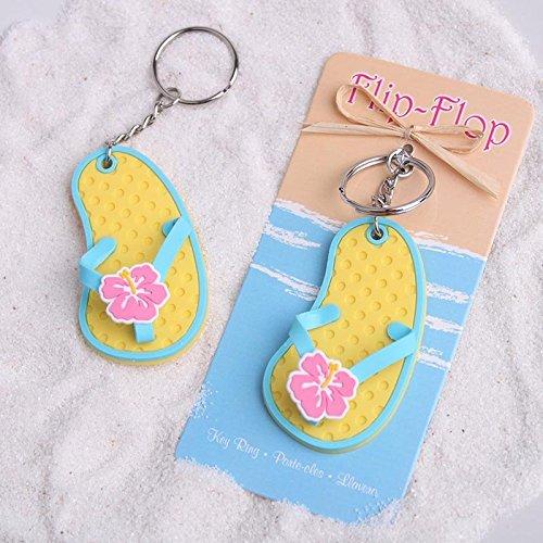 Bonboniere Schlüsselkette Schlüsselanhänger Thema Meer Flip Flops