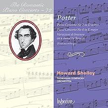 Cipriani Potter : Concertos pour piano. Shelley.