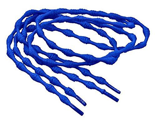 Laufstoff Sistema de cordones elásticos cordones para botas-para todos se convierte Slipper unidad plástico, azul