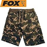 Fox Chunk Camo Jogger Shorts Special Edition - Angelhose, Angelshorts, Anglershorts, Shorts für Karpfenangler, Kurze Hose, Größe:S
