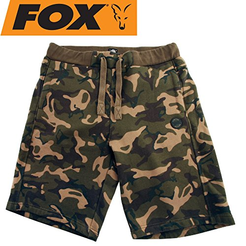Fox Chunk Camo Jogger Shorts Special Edition - Angelhose, Angelshorts, Anglershorts, Shorts für Karpfenangler, Kurze Hose, Größe:M -