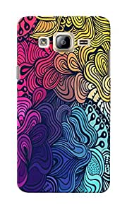 CimaCase Abstract Designer 3D Printed Case Cover For Samsung Galaxy On7