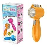 yiwa Tragbare Mini 4in 1Elektrischer vibrierender Roller Zahn Kamm Massagegerät Full Body Schmerzen reduzieren Gesundheit Produkt Massage Ausrüstung
