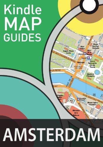 Amsterdam Map Guide (Street Maps) (English Edition) por Maps International