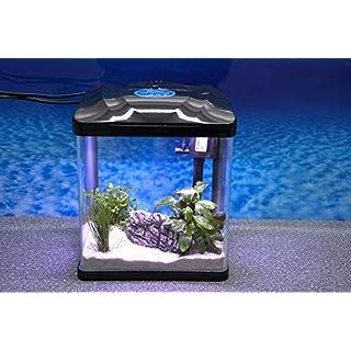 Hrc-230 schwarz Nano Aquarium Komplettaquarium Mini Aquarium Filteranlage Nanoaquarium Komplett Filter Beleuchtung