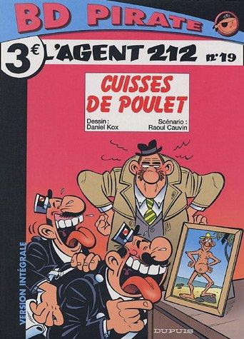 BD Pirate : L'agent 212, tome 19 : Cuisses de poulet