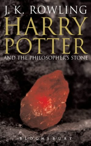 Book cover for Harry Potter and the Philosopher's Stone