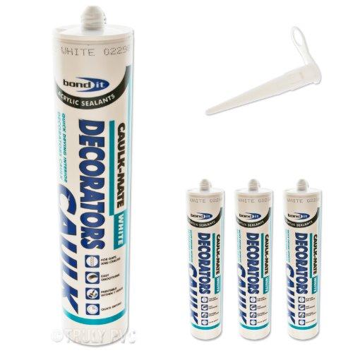 3-x-bond-it-white-caulk-mate-eu3-cartridge-310ml-decorators-caulk-60-minute-formula-bdohc300