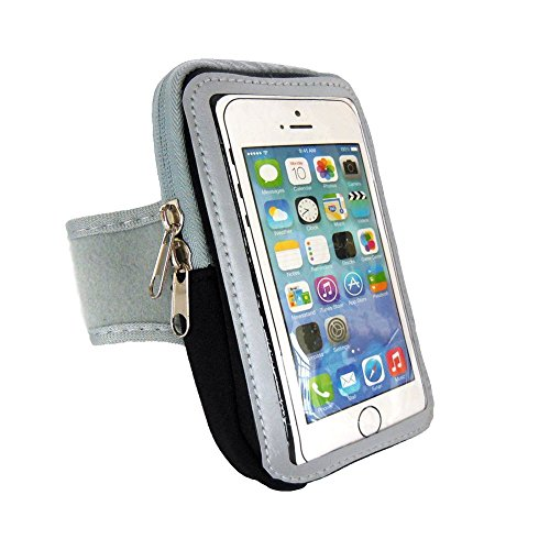 Brazalete Gimnasio Correr caso de la cubierta del deporte del brazal para el 4.7''~5.5'' pulgadas iphone SE 6 6s 6plus 6s plus 7 7plus/Samsung Galaxy/ SONY/HUAWEI (5.5'' black)
