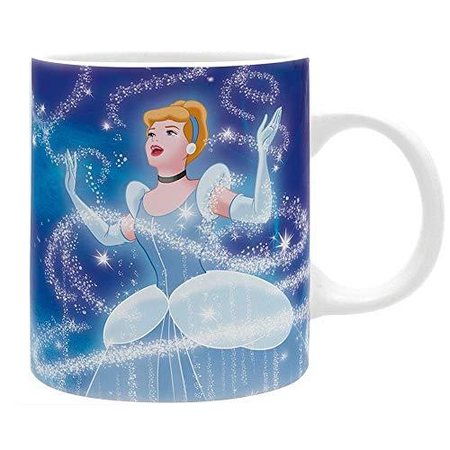 Marie Aristocats Kostüm - Cinderella Disney Premium Keramik Tasse - Prinzessin - Geschenkbox