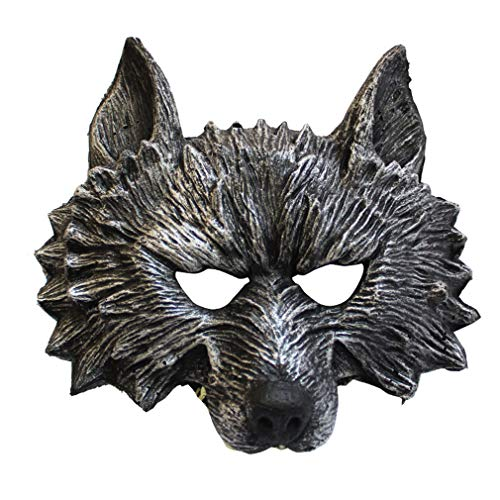 Halloween Make-up Ball Tier Party führt Wolf Maske Bar Horror Maske cos AFFE Tiger Maske