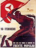 WAR PROPAGANDA SPANISH CIVIL COMMUNIST ANTI FASCIST RED FLAG SPAIN POSTER 2791PY