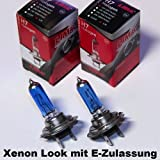 2 x LIMA H7 Xenon Look 12V 55W Halogen Lampe super weiss