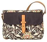 Oilily Damen S Shoulder Bag Umhängetasche, Grau (Charcoal), 5x20x26 cm